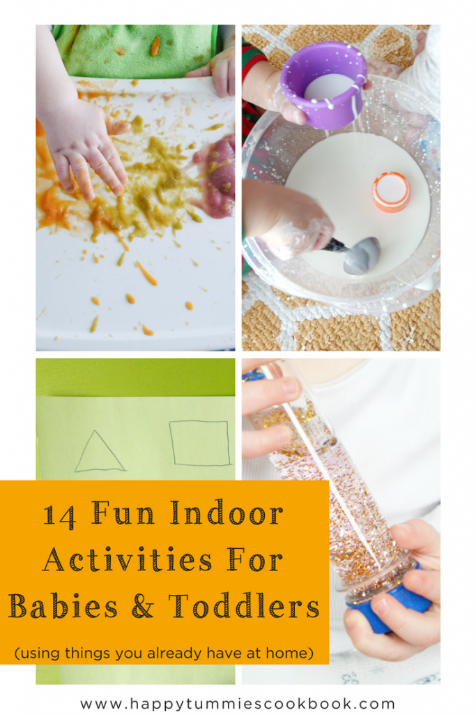 14 Fun Indoor Activities For Babies Toddlers Happy Tummies